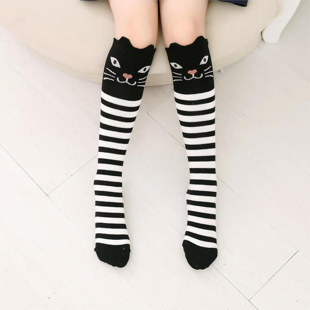 Knee High Long Socks for Girls