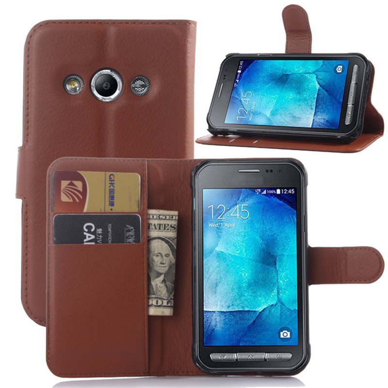 Luxury Wallet PU Leather Case For Samsung Galaxy XCover 3 G388F SM-G388F 4.5 XCover3 Stand Flip Card Hold Phone Cover Bags
