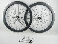 IPLAY 700C carbon rim clincher 60mm alloy brake surface carbon road wheel aluminum brake surface powerway R36 carbon wheels 25mm