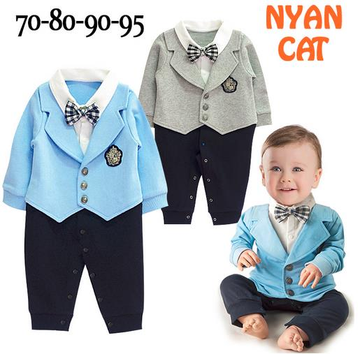 dcc1f303c67e 2017 New Baby Boy Rompers Gentlemen Stylish One piece Boys Jumpsuit ...