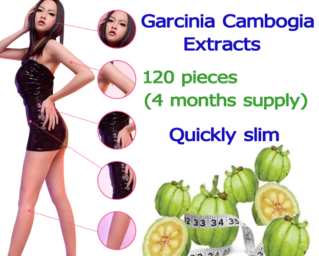 HCA 60% Pure garcinia cambogia extract slimming products Quick loss weight diet product (400 pieces) 2 bottles 120 pcs pure garcinia cambogia extracts weight loss 95% hca 100% effective for slimming supplement