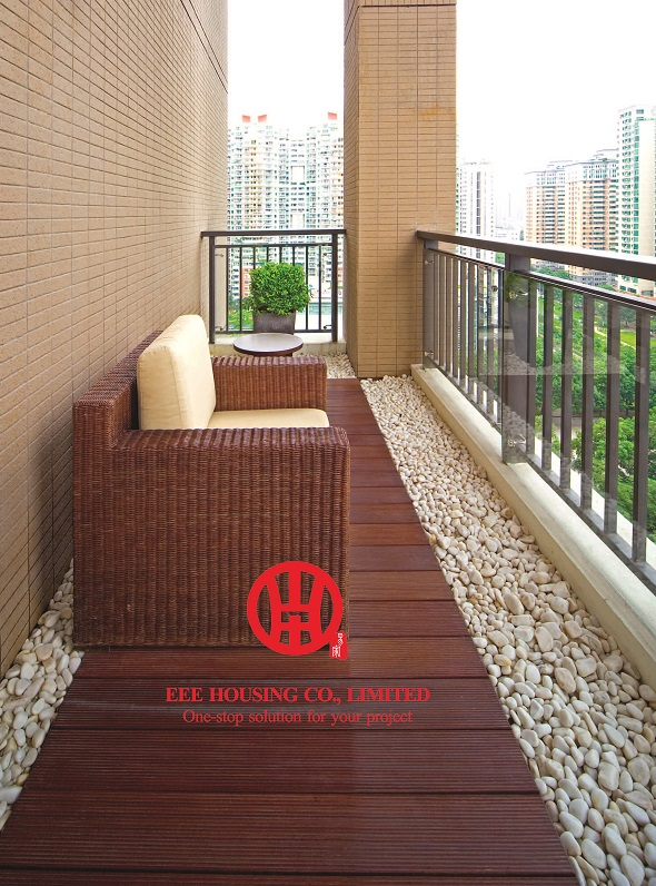 Eco Friendly Bamboo Decking Boards, Terraced Decking Ideas