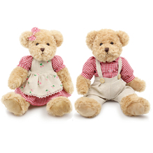 Classical kawaii teddy bear stuffed & plush toys Lovers High quality Valentine's day gifts peluche brinquedos pelucia juguetes