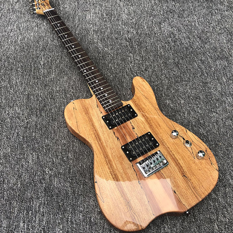 2019 Custom Shop,Mahogany body with map Veneer TL style Electric Guitar,free shipping2019 Custom Shop,Mahogany body with map Veneer TL style Electric Guitar,free shipping