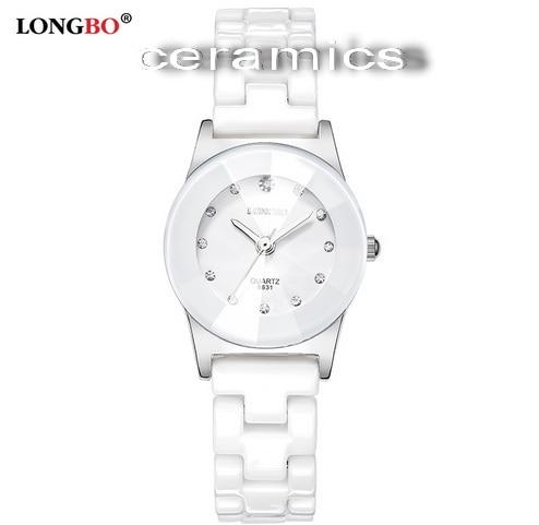 Купить часы керамика белые
