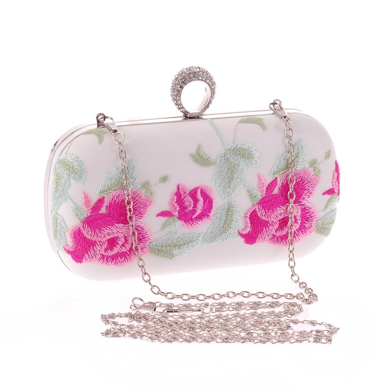 ФОТО The new model bag personality diamond chain bag fashion handbags embroidered perfect match of the bales 16 conference dinner
