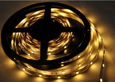 SMD3014 Led Strip light DC12V 5M 60led/M 120led/m RGB/White LED Ribbon Tape Led Rope Light flexible Christmas Home Decoration