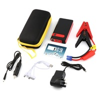 Portable 8000mAh Multi Function Car Emergency Power Supply Charger Power Bank Jump Starter Booster For Samsung Andorid