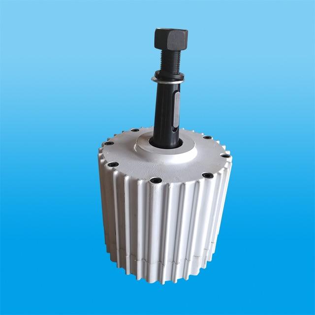 361e9934a4b Baja velocidad AC48V 2kw alternador de imán permanente para la turbina de viento  generador de baja