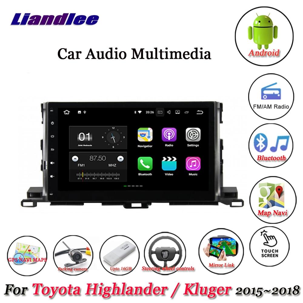 Liandlee Car Android System For Toyota Highlander Kluger 20152018 Rhaliexpress: 2005 Toyota Highlander Gps Radio At Gmaili.net