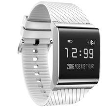 Bluetooth Smart Watch 4.0 сердечного ритма Мониторы группа Приборы для измерения артериального давления кислорода умный Браслет
