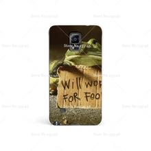 Food Frogs Funny Work Plastic Protective Shell Skin Bag Case For Samsung Galaxy s3 s5 s6 mini s4 Cases Hard Back Cover