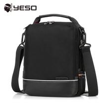 YESO Brand Men Messenger Bag 2017 Spring Fashion Casual Business Handbag Shoulder Crossbody Bags Oxford Black Messenger Bag
