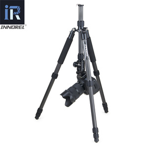 Image 5 - RT40C Professional Carbon Fiber tripod for digital dslr camera light weight stand high quality tripe for Gopro tripode 164cm max