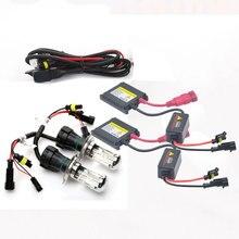 12 V 55 Watt xenon H4 high low Bixenon lampe kit HB2 9003 9004 9007 9008 H13 high low licht 4300 Karat 6000 Karat 8000 Karat H4 bi xenon kit