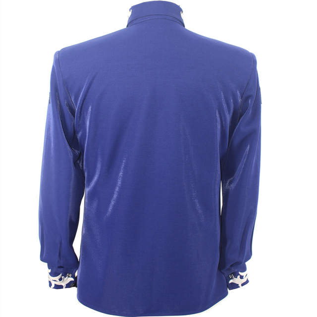 placeholder Rare MJ Michael Jackson This is it Blue 50TH BIRTHDAY Printing  Crystal JACKET Outerwear d73c5fbdaea4