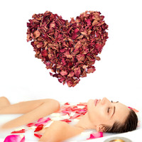 Natural Red Rose Dried Petals Buds 100 Organic Bath Soap Spa From China Yunnan Great Gift