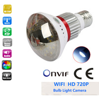 BC 785WM Bulb Lamp Wifi Ip Camera Micro SD CCTV Surveillance Camera With 5 Watt