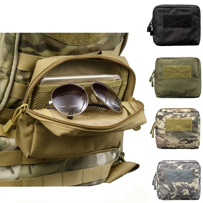 CQC 1000D Military Molle Tactical Mini Waist Pouch EDC Medical Pack Phone Case Bag Outdoor Hunting Accessory Bags