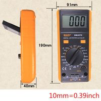 BM4070 LCD Dispaly LCR Meter Self discharge Capacitance Inductance Resistance Digital Multimeter