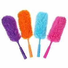 Щетка из мягкой микрофибры для удаления пыли, не теряет волосы, Антистатическая щетка для очистки домашней мебели