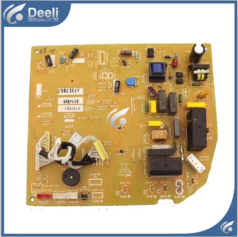 95% new good working for Panasonic inverter air conditioning unit board A713583 A747721 A73C7857 circuit board 95% new for haier refrigerator computer board circuit board bcd 198k 0064000619 driver board good working