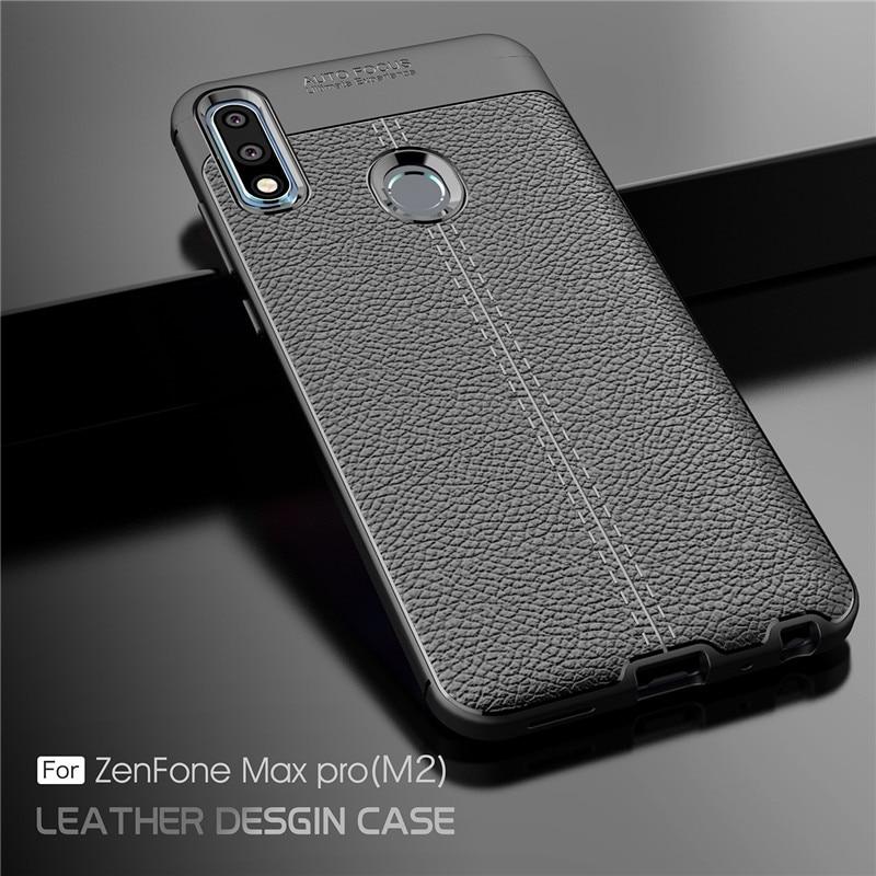 Asus Zenfone Max Pro (M2) ZB631KL Case Luxury Soft Silicone Rubber Phone Case For Asus Zenfone Max Pro ZB631KL Back Cover Fundas