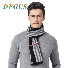 New Brand Winter Scarf Luxury Brand Men Cashmere Scarves Warm Long Scarves Autumn Windproof Cashmere Scarf