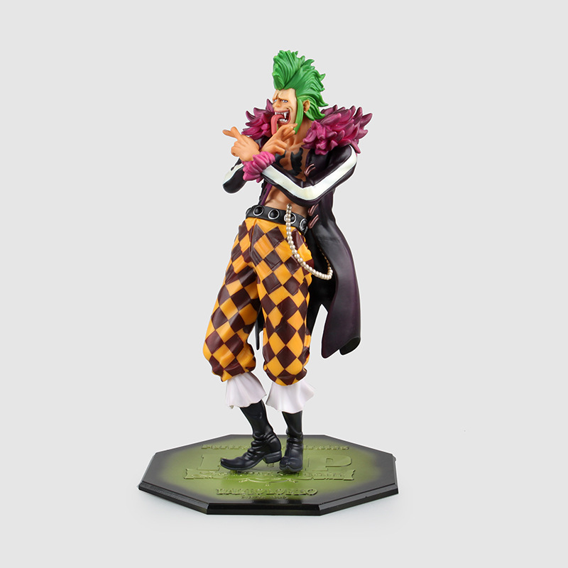 Huong Anime One Piece 24CM POP Bartolomeo Monkey D Luffy Fans PVC Action Figure Collection Brinquedos Model Toy 25cm anime one piece edition film z monkey d luffy pop pvc action figure collection toy op068