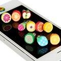 20 unids encantador lindo fruta fresca auriculares enchufe anti del polvo del tapón del casquillo para el iphone samsung xiaomi huawei teléfono inteligente toma de auriculares