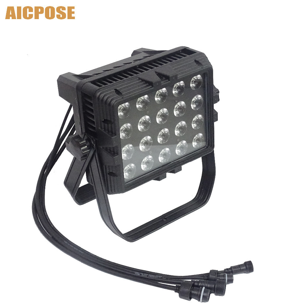 20x18w IP65 Waterproof Outdoor Wall Wash Light RGBW 4in1/RGBWA 5in1/RGBWA UV 6in1 Led Waterproof Stage Lighting Square Par Light20x18w IP65 Waterproof Outdoor Wall Wash Light RGBW 4in1/RGBWA 5in1/RGBWA UV 6in1 Led Waterproof Stage Lighting Square Par Light