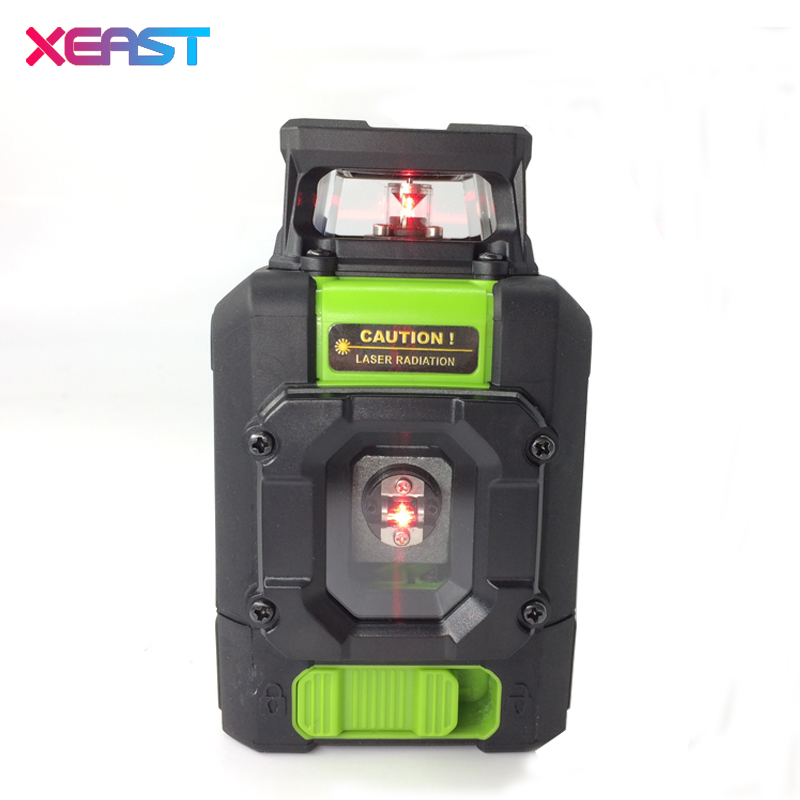 XEAST 20pcs XE-901 Laser Level Meter 5 Lines 360 Degrees Self Leveling Mini Portable Instrument Red Laser Beam dust splash proof thyssen parts leveling sensor yg 39g1k door zone switch leveling photoelectric sensors