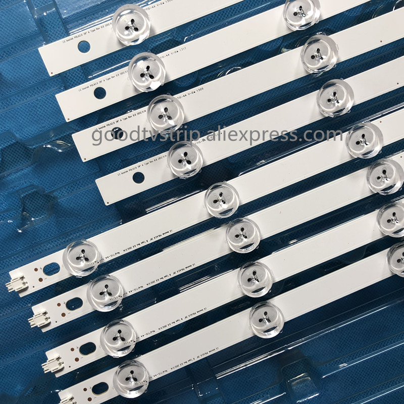 "Image 4 - 1set=40pcs LED Backlight 9Lamp For LG 39"" TV LG 39LN5100 INN0TEK POLA2.0 39 39LN5300 39LA620S POLA 2.0 39LN5400 HC390DUN VCFP1-in LED Bar Lights from Lights & Lighting"