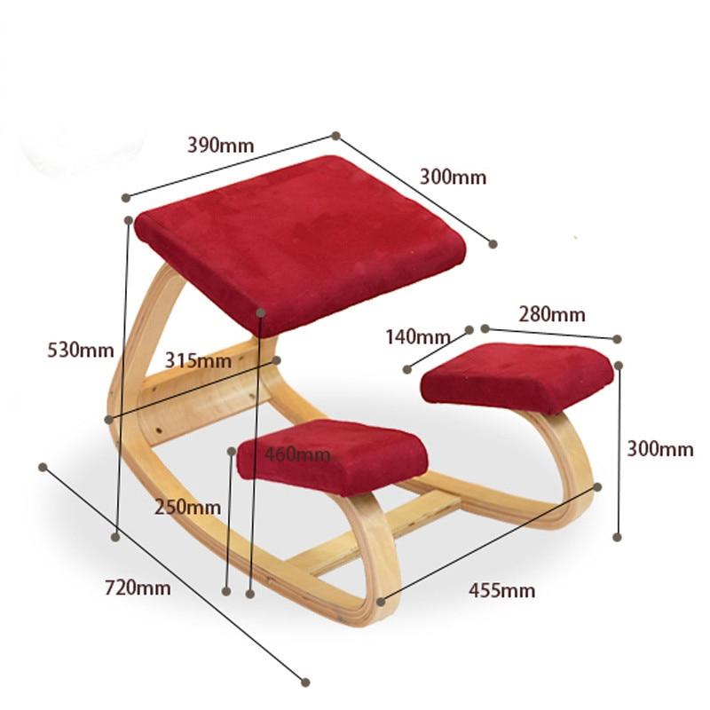 ergonomic chair home revolving near me office kneeling knee stool computer chairs