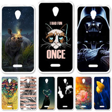 TAOYUNXI Soft Case For Lenovo Vibe B A2016 A1010 Cases For Lenovo A20 A Plus APlus A1010a20 A 1010 4.5 inch DIY Painted Covers