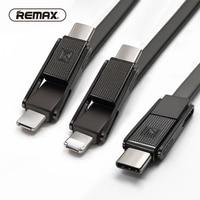 REMAX Gplex 3in1 USB Cáp dữ liệu Loại c usb cho iphone cáp Micro USB 2.1A sạc Cáp sạc USB C cable đối với samsung/xiaomi