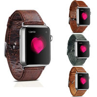 ICARER Genuine Leather Watch Band Vintage Leather Loop For 42 38MM Apple Watch Band For IWatch