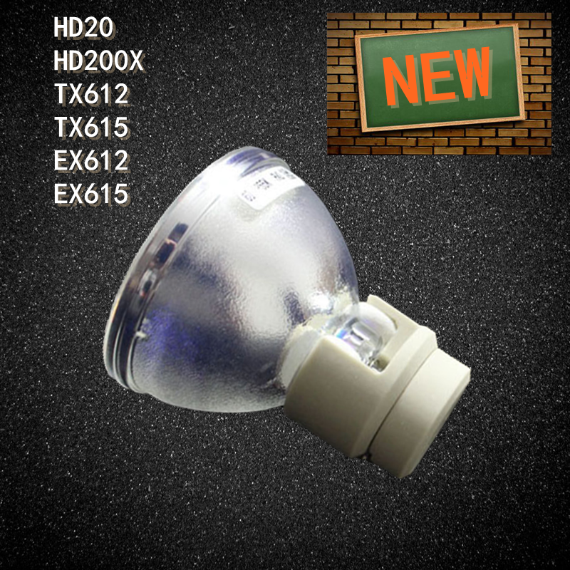Projector Bare Lamp Bulb BL-FP230D for OPTOMA HD20 HD200X TX612 TX615 EX612 EX615 HD2200 EH1020 HD180 DH1010 100% original bare osram projector lamp bl fp230d sp 8eg01gc01 bulb for ex615 hd2200 eh1020 hd180 dh1010