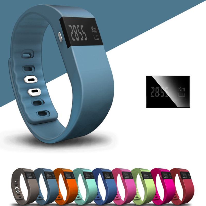 TW64 Fitness Tracker Bluetooth Smart band Sport Bracelet Smart Band Wristband Pedometer For iPhone IOS Android PK Fitbit digital