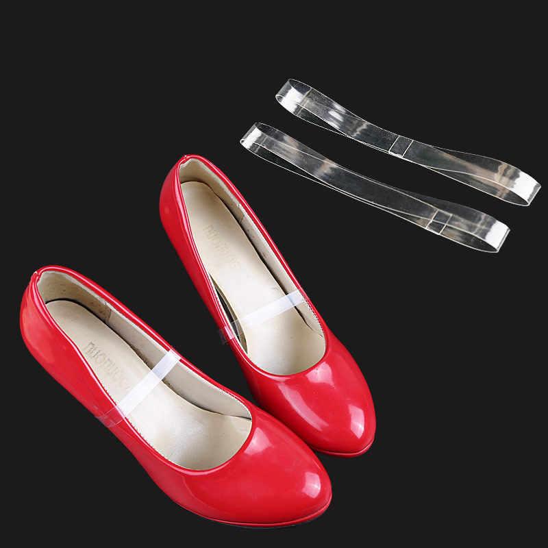 Unsichtbare schnürsenkel 1 para Hohe Qualität Charme Frauen Bequem Silikon Schuhe Gürtel Ankle Schuh Krawatte Dame Strap Spitze Band