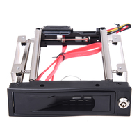 3 5 SATA HDD Rom Hard Drive Disk Aulminum Mobile Rack