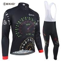 BXIO 2017 Cycling Jersey Ciclismo Bike Bicicleta Cycling Clothing For Men Mountain Bike Jersey Long Sets