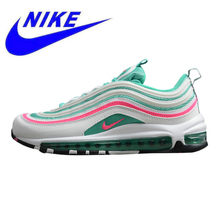 965331831e Nike Air Max 97 GS Men's and Women's Running Shoes,, Shock Absorption  Breathable Lightweight Wear-resistant Green 921522 101