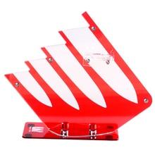 Nuevo estilo de soporte de acrílico del cuchillo bloque del cuchillo de cerámica Respetuosa Del Medio Ambiente de alta calidad accesorios de cocina herramientas de cocina creativa de la venta caliente