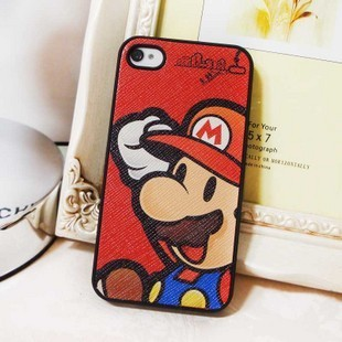Solid scrub for cartoon for iphone 4 4s phone case shell for apple hard shell protective case