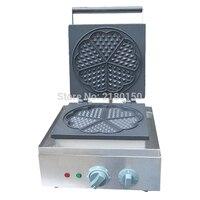 Electric Heart Shape Mould Waffle Maker Mini Plaid Cake Making Machine Furnace Heating Machine FY-215