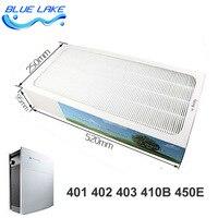 Oem original  azul 400 séries  filtro de coleta de poeira/hepa  para 401 402 403 410b 450e  peças do purificador de ar|air purifier parts|air filter hepa|air purifier hepa filter -