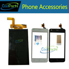1PC/Lot High Quality For Fly nimbus 8 FS 454 FS454 LCD Display Screen +Touch Screen Digitizer Replacement Part With Tape&Tool