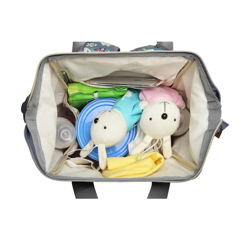 Multifunctional shoulder diaper bag large capacity maternal baby out waterproof waterproof bag portable backpackMultifunctional shoulder diaper bag large capacity maternal baby out waterproof waterproof bag portable backpack