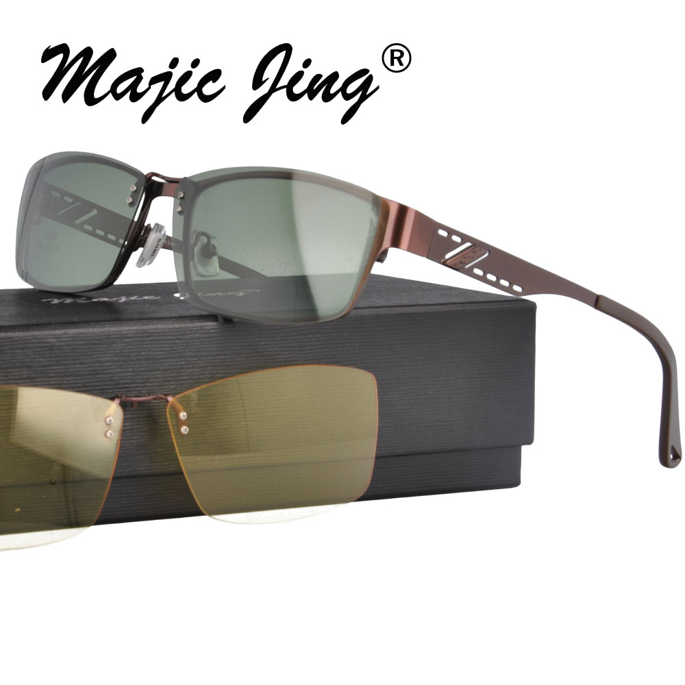 New arrival 2013 new style free shipping S9253 top quality clip on optical frame eyeglasses